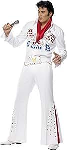 Generic - 355 138 - Disfraz de Elvis Presley Hombre - Talla única