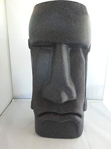 (Sm Easter Island Moai Planter NEW COLOR (Black Granite))