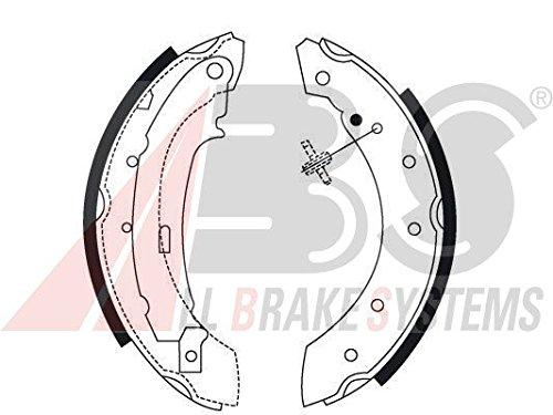 ABS All Brake Systems 8895 Jeu de mâ choires de frein ABS All Brake Systems bv