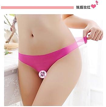 ef52a3e430 RangYR Lencería Sexy Femenina Cintura Tanga Transparente tamaño Fat mm Ropa  Interior sin Costuras