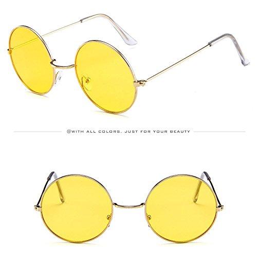 AMOFINY Fashion Glasses Women Men Vintage Retro Unisex Fashion Circle Frame Sunglasses Eyewear by AMOFINY-Fashion Sunglasses (Image #1)