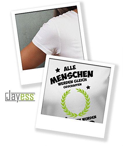 Jayess Menschen Werden Gleich Geschaffen - Die Besten Wurden 1988 Geboren - Damen T-Shirt Weiß ku1eb