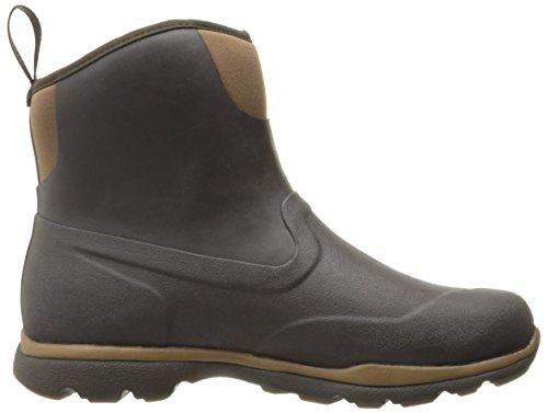 Muck Boot Mens Excursion Pro Mid Corteccia Di Neve / Lontra
