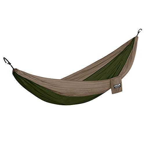 ENO Eagles Nest Outfitters - DoubleNest Hammock with Insect Shield Treatment, Khaki/Olive