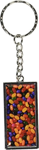 Price comparison product image Graphics and More Jelly Beans Candy Keychain Ring (K2006)