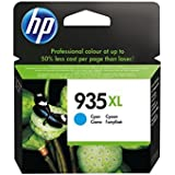HP C2P24AE Cartuccia Inkjet alta Capacità 935XL, Ciano