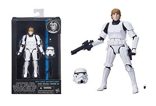 Star Wars The Black Series Luke Skywalker (Stormtrooper Disguise) Figure