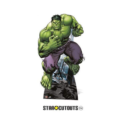 Star cutouts - Stsc744 - Figurine Géante - Hulk - Avengers - 176 Cm