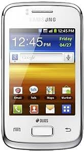 SAMSUNG GT-S6102B Unlocked Cellphone - US Warranty - White