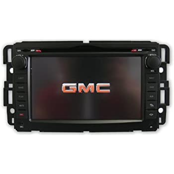 OttoNavi GM0711YK-WSS60NAX GMC 07-11 Denali Multimedia In-Dash Double Din OEM Replacement Gen 6.0 Car Radio with 6 CD Virtual Disc Memory (Black)