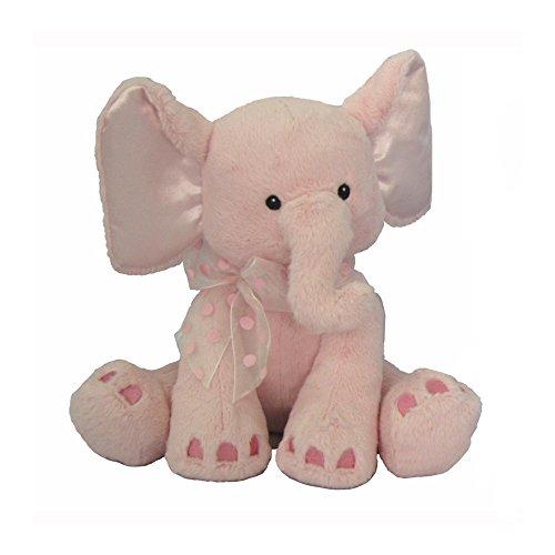 First & Main Plush Stuffed Elephant, Pink, 8
