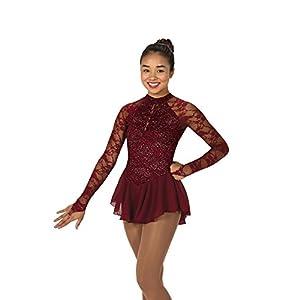 Jerry Skating World Jerry's Figure Skating Dress 77 Fine Wine