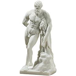 Design Toscano Bonded Marble (200 B.C.) Farnese Hercules Statue