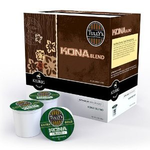 Tully's Coffee Kona Blend K-Cup Coffee