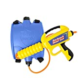 Backpack Water Guns Super Blaster Backpack Squirt Gun with Tank Water Shooter Far Range for Kids Water War Summer Vacation Swimming Pool Beach Game Toy