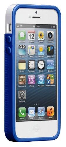 Case Mate CM022382  Pop Case für Apple iPhone 5 weiß/blau