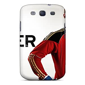 New Arrival The Football Player Of Bayern Manuel Neuer On White Background For Galaxy S3 Case Cover
