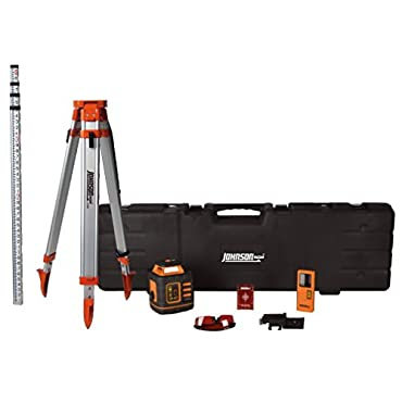 Johnson Level & Tool 99-027K Self-Leveling Rotary Laser System