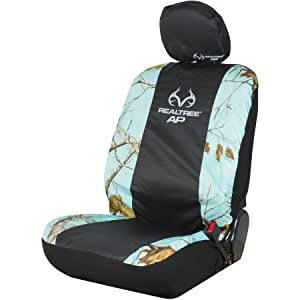 Amazon Com Realtree Apc Mint Camo Low Back Seat Cover