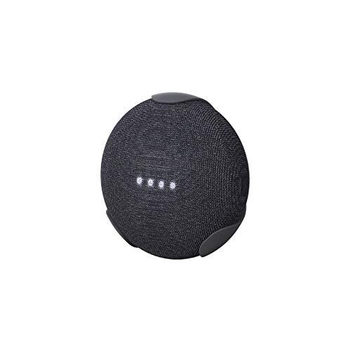 360 Electrical 360576 EasyClip Wall Mount for Google Home Mini – Google Bracket Stand Holder Case, for Kitchen, Bathroom, Bedroom, Living Room, Office, Charcoal