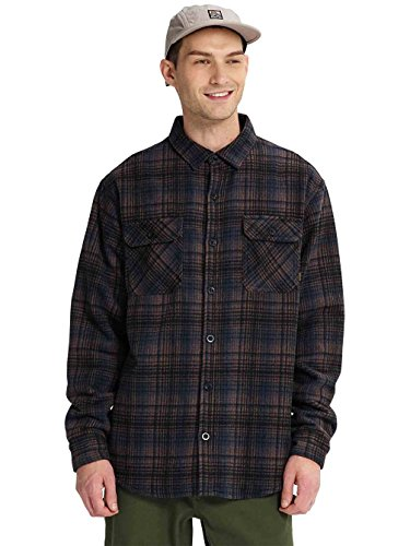 - Burton Men's Brighton Tech Insulated Flannel (True Black Humboldt Plaid, X-Large)