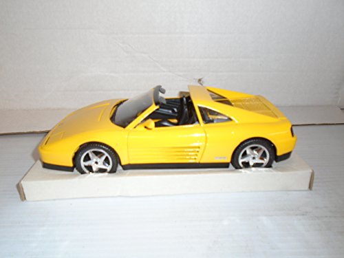 Mira Die Cast Car 1/18 Scale Ferrari 348 TS (Yellow) Die Cast ()