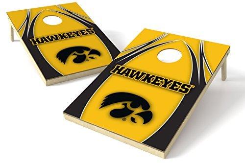 Wild Sports NCAA College Iowa Hawkeyes 2' x 3' V Logo Cornhole Game Set [並行輸入品]