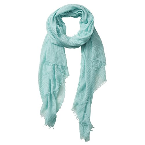 Tickled Pink Classic Soft Solid Stylish Long Lightweight Pashmina-Like Cotton Blend Scarf 38 x 70