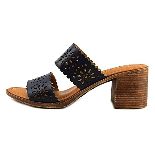 Slide Susana Street Toe Sandals Navy Womens Casual Easy Open EqdRURY