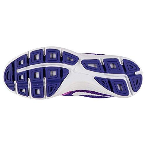 NIKE Revolution Chaussures de Course à Pied pour Femme Violet/blanc Run Fitness Formateurs Sneakers