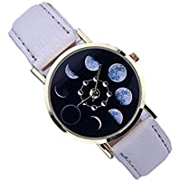 Eclipse Wrist Watch for Women | Beautiful Women's Wristwatch with Leather Band