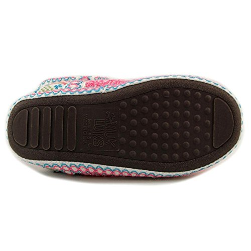 Toe On Pull Slippers LUKS Muk Multi Womens Pink 16427 Closed w0nOI0qxYF