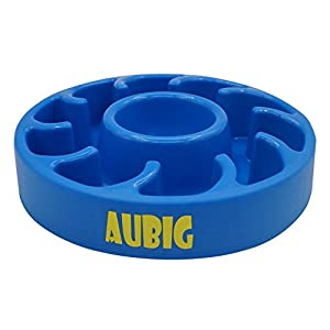 Pet Fun Feeder Dog Bowl Slow Feeder Bloat Stop Dog Food Bowl Maze Interactive Puzzle Dog Bowl Blue Click on image for further info.