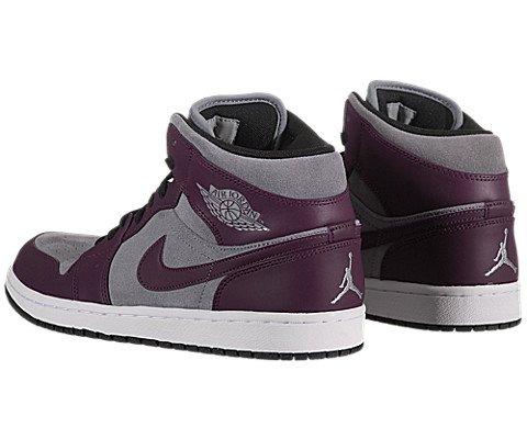 Nike Air Jordan 1 Phat Mid Mens Basketball Shoes 364770-018 ... 78ff8b1a2
