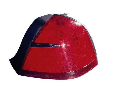 Depo 331-1966R-US Mercury Grand Marquis Passenger Side Replacement Taillight Unit without Bulb (Tail Passengers Marquis Side Grand)