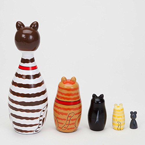 Bits and pieces cleo friends nesting cats hand painted import it all for Kitchen set toys r us philippines