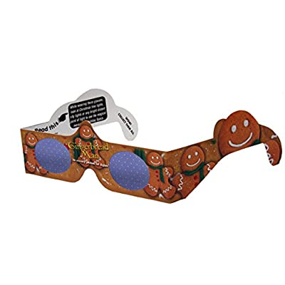 12 Pairs - 12 Different Styles - 3D Holiday Eyes(tm) Glasses - Ships Flat - For Holiday Lights - Exclusive Holiday Tree and Jingle Bells - Transform Holiday Lights Into Magical Images -: Electronics