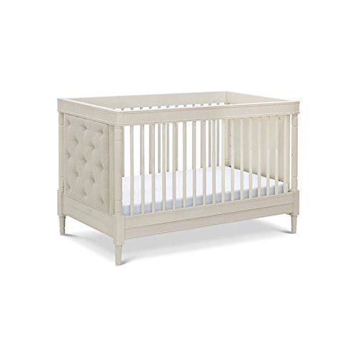 Franklin & Ben Everly 4-in-1 Convertible Crib with Toddler Bed Conversion Kit, Clay (Franklin 1)