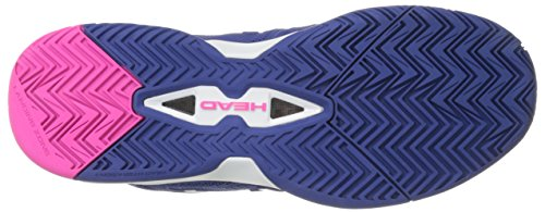 HEAD Women's Revolt Pro 2.0 Tennis Shoes Navy/Pink CoFfwxoP