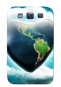 Skywaymobj Perfect Tpu Case For Galaxy S3/ Anti-scratch Protector Case (we Love Terra )