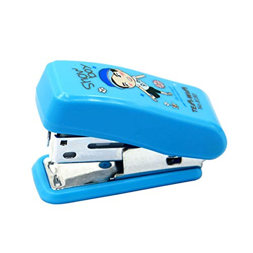 IANXI Home Astronomical Cute Mini Stapler Durable Labor-Saving Stapler Small Office Supplies (Size : A) (Cards Business Staples)
