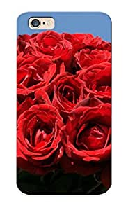 Cute High Quality Iphone 6 Red Rose Bouquet Case Provided By Freshmilk