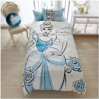 White Costume Cammy (Disney Cinderella duvet covers, sheets, pillow case three-piece set Japanese-style)