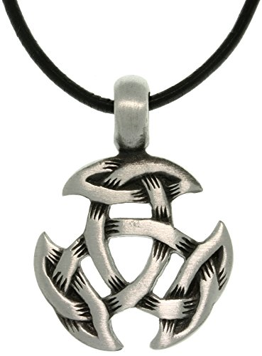 Jewelry Trends Celtic Crescent Knot Pewter Pendant