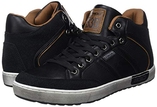 3bf4e56530c9 bass3d Men s 40223 Low-Top Sneakers  Amazon.co.uk  Shoes   Bags