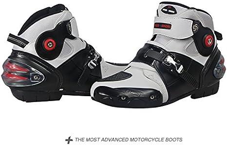 pour hommes douces et imperm/éables Yiwa Bottes de moto antid/érapantes