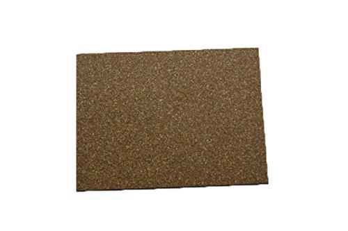 Cork Nature 620303 Superior Sealing Cork Rubber Sheet, 36'' x 36'' x 0.062''