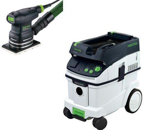 PAC567863, Festool RTS 400 EQ Sander & CT 36 E AC Dust Extractor