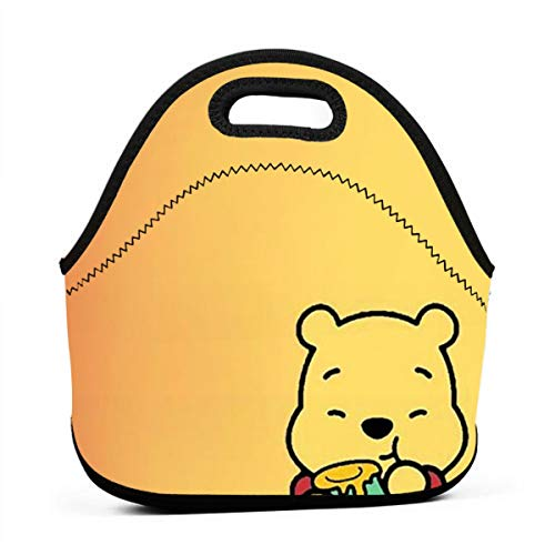 (LIUYAN Personalized Lunch Boxes Winnie The Pooh Mom Bag for Adults and Kids)
