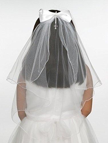 Jessica Communion Bow Cross Charm product image